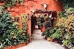 Courtyard, San Miguel de Allende, Guanajuato, Mexico