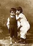Boy Telling A Secret