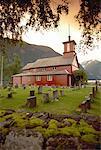 Church in Sonefjord, Norway