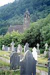 Church and Graveyard, Glendalough Ireland