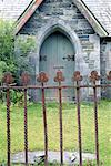 Door and Fence, Killarney, Ireland