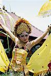 Danse de l'abeille, Bali, Indonésie