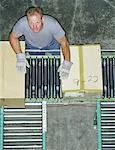 Conveyor belt overhead