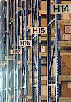 Factory storage aisle