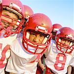 Intimider l'équipe de Football des jeunes