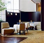 Restaurant, hôtel Intercontinental, Toronto, Ontario, Canada