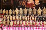 Statues in Market, Angkor Wat, Cambodia