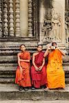 Portrait of Monks, Angkor Wat, Cambodia