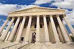 Édifice de la Cour suprême à Washington DC