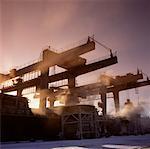 industrial dusk