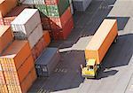Cargo Truck in Shipyard