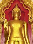 Bouddha en Attitude de persuader les parents ne se querelle, Nakon Pathom Chedi, Thaïlande