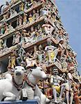 View of Sri Mariamman Hindu Temple, Singapore