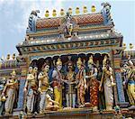 Temple indou de Sri Krishna, Singapour