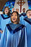 Church Choir Singing