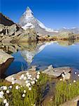 Matterhorn and Riffelsee, Zermatt, Switzerland