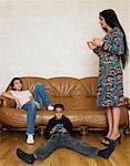 Familie von Sofa