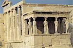 Greece, Acropolis, caryatids