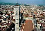 Campanile Italie, Florence, de Giotto
