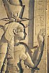 Egypte, Edfou, temple d'Horus.