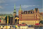Sweden, Stockholm, Gamla Stan and Riddar Holmen