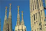 Espagne, Barcelone, Sagrada Familia, Gaudí