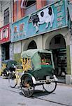 China, Macao, rickshaw.