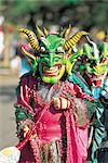 Dominican republic, la Vega, carnival