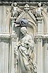 Italie, Toscane, Sienne, fontaine Gaia