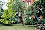 England, London, gardens.