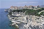 France, Corsica, Bonifacio, the clifs