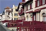 France, Aquitaine, Saint Jean de Luz, maisons
