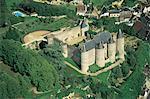 France, Centre, château de Luynes du ciel