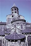 France, Auvergne, Clermont Ferrand, Notre Dame du port