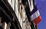 France, Normandie, Vernon, drapeau