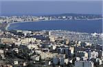 France, Côte d'Azur, Golfe Juan, le littoral