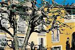 France, Provence, house facade