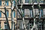 Façade de maison de France, Provence,