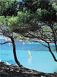 France, Provence, calanques de Marseille