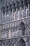Norway, Trondheim, cathedral of Nidaros
