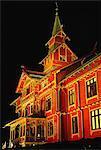 Norway, Oslo, Holmenkollen hostel