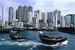 Chine, Hong Kong, Aberdeen.
