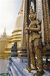 Statue temple, or de Thaïlande, Bangkok, Wat Phra Keo