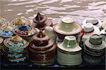 Thailand, Bangkok Damnoen Saduak, Schwimmender Markt