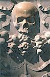 Crâne d'Italie, Rome, dans la Basilique de Santa Maria Maggiore