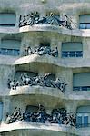 Balcons d'Espagne, Barcelone, la Casa Milà
