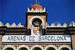Plaza de l'Espagne, à Barcelone, de Toros