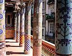 Espagne, Catalogne, Barcelone, musique de palais du Catalan, de Montaner