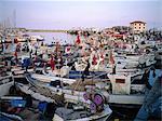 Spain, Barcelona, the fishing port