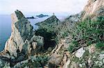 France, Corsica, Sanguinaires islands